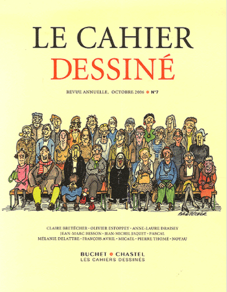Le Cahier dessiné no 7